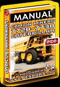 Descargar Manual de Camión 773 Caterpillar