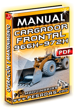 Descargar Manual de Cargador Frontal 966H-972H Caterpillar