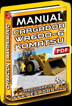 Descargar Manual de Cargador Frontal WA600-6 Komatsu