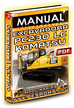 Descargar Manual de Excavadora PC200 a PC230LC Komatsu