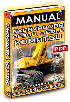 Descargar Manual de Excavadora PC350LC Komatsu