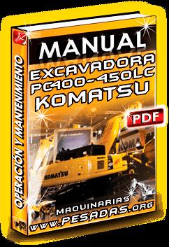 Descargar Manual de Excavadora 450 LC-7 Komatsu