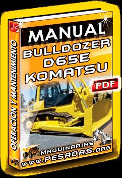 Descargar Manual de Tractor Oruga D65E-8G Komatsu