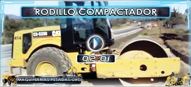 Rodillo Compactador Caterpillar CS533D