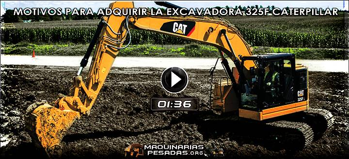 Video de Excavadora 325F Caterpillar