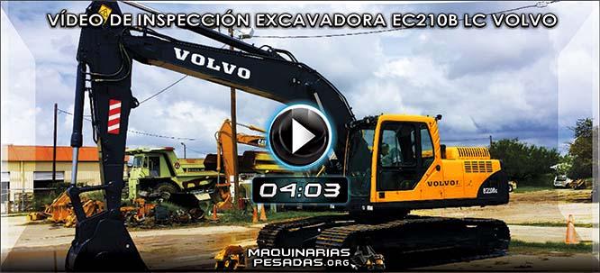 Video de Inspección de Excavadora EC210B LC Volvo