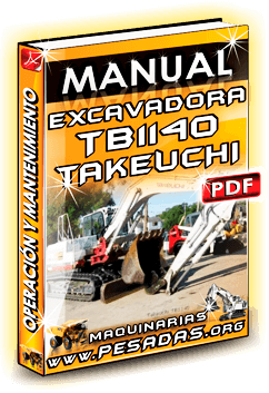 Descargar Manual de Excavadora TB1140 Takeuchi