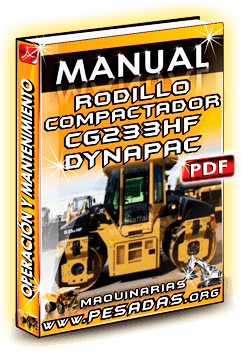 Descargar Manual de Rodillo CG233HF Dynapac