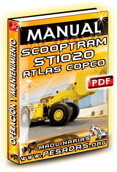 Descargar Manual de Scooptrams ST 1020 Atlas Copco