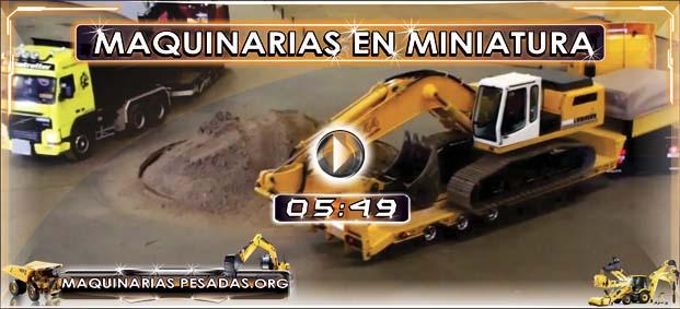 Camiones Volquetes Tr 225 Ilers Excavadoras En Miniatura