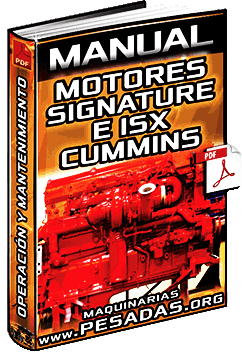 Manual    de    Motores Signature e ISX Cummins  Operaci  n y