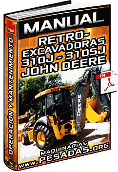 Descargar Manual de Retroexcavadoras 310J y 310SJ John Deere