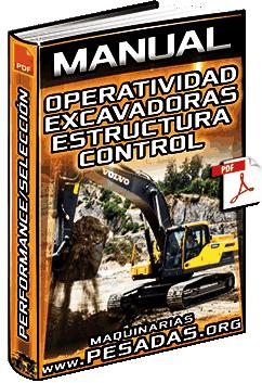 Manual de Operatividad de Excavadoras - Estructura, Control, Performance y Selección
