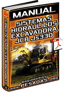 Manual: Sistemas Hidráulicos de la Excavadora JCB JC330 - Componentes y Aplicaciones