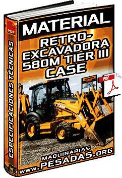 Descargar Especificaciones de Retroexcavadora 580M 3 Tier III Case