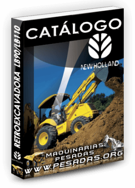 Catálogo de una Retroexcavadora LB90 / LB110 New Holland
