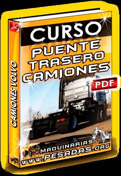 Curso de Puente Trasero de Transmisión de Camiones Volvo