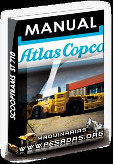 Manual Scooptrams ST 710 Atlas Copco