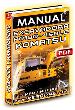 Manual de Operación y Mantenimiento Excavadoras PC400-7 / PC450 LC-7 Komatsu