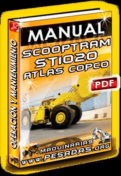 Manual de Operación y Mantenimiento Scooptram ST1020 Atlas Copco