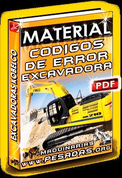 Material Códigos de Error de Excavadoras Kobelco