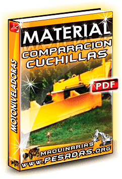Material Comparación de Cuchillas de Motoniveladoras
