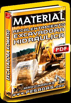Material Recalentamiento de Excavadoras Hidráulicas Komatsu