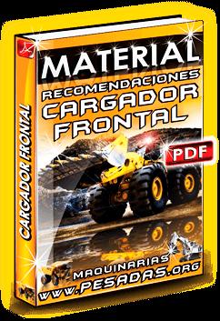 Material Recomendaciones Operación de Cargador Frontal