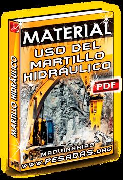 Material Recomendaciones en el Uso del Martillo Hidráulico