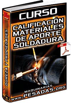 Curso: Calificación de Materiales de Aporte para Soldadura – Metales y Propiedades
