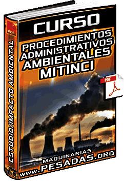 Curso: Procedimientos Administrativos Ambientales – Estudio e Impacto Ambiental