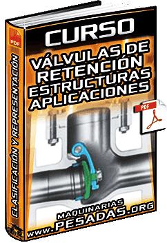 Curso: Válvulas de Retención - Estructuras, Aplicaciones, Clasificación y Representación