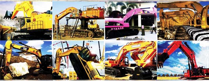 Imágenes de Excavadoras Hidráulicas