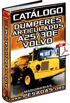 Catálogo de Camiones Dúmperes Articulados A25E y A30E Volvo