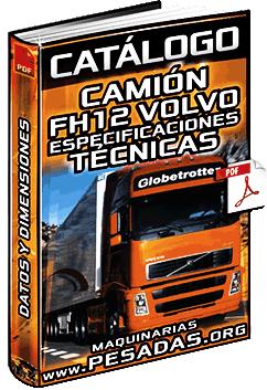 Catálogo del Camión FH12 Volvo (Tractos y Rígidos) - Especificaciones Técnicas