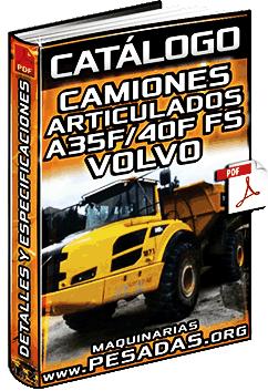 Catálogo de Camiones Articulados A35F-FS y A40F-FS Volvo