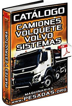 Catálogo de Camiones Volquete Volvo - Motor, Sistemas de Suspensión, Caja y Eje