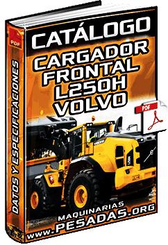 Catálogo de Cargador Frontal L250H Volvo