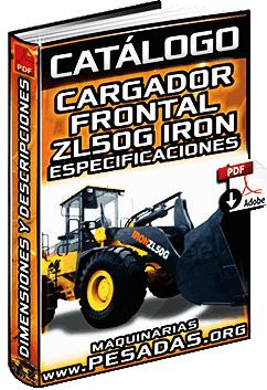 Catálogo del Cargador Frontal ZL50G Iron