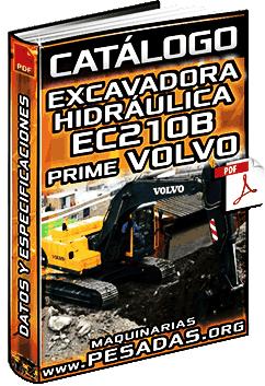 Catálogo de Excavadora Hidráulica EC210B Prime Volvo