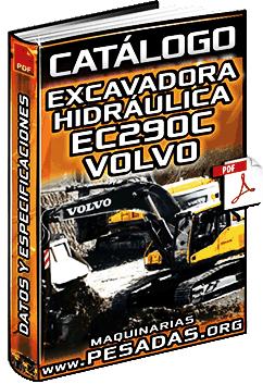 Catálogo de Excavadora Hidráulica EC290C Volvo