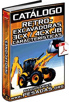 Catálogo de Retroexcavadoras 3CX y 4CX JCB – Características e Innovaciones