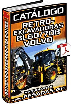 Catálogo de Retroexcavadoras BL60B y BL70B Volvo