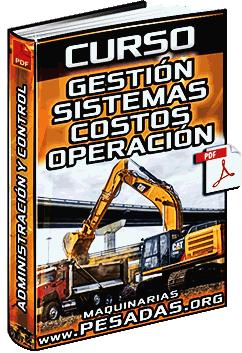 Curso: Gestión de Máquinas – Producción, Sistemas, Control y Costos de Operación
