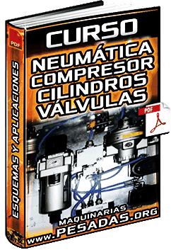 Curso: Neumática - Compresor, Cilindros, Válvulas, Tipos, Esquemas y Aplicaciones