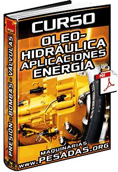 Curso de Oleohidráulica – Aplicaciones, Energía, Presión, Bombas y Válvulas