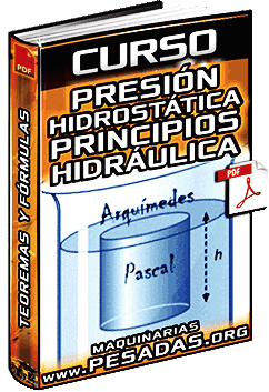 Curso de Presión Hidrostática - Teorema y Principios de Pascal y Arquímedes