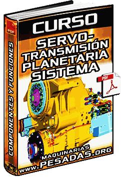 Curso de Servotransmisión Planetaria - Conjunto de Engranajes y Transmisión