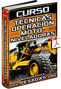 Curso de Técnicas de Operación de Motoniveladoras - Cortes y Nivelación