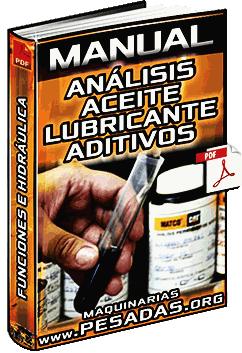 Manual de Análisis de Aceite Lubricante - Tipos, Funciones, Aditivos e Hidráulica